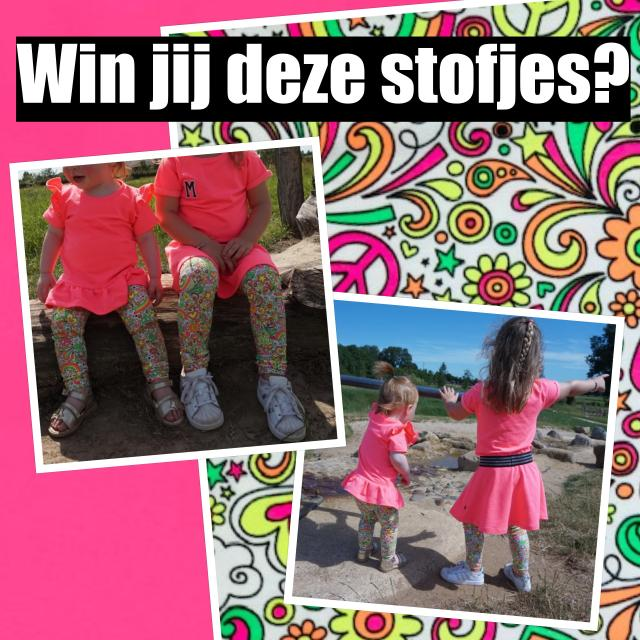 collage stofjes winnen